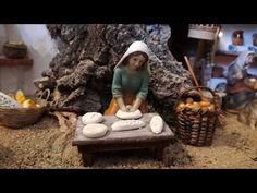 Panadera belen - YouTube Firewood, Youtube, Christmas, Crafts, Food, Deco, Holiday Ornaments, Nativity Scenes, Birth