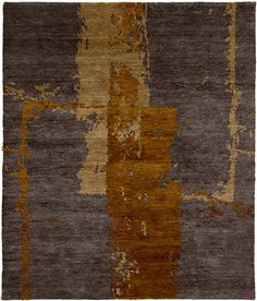 Kachina B Hand Knotted Tibetan Rug from the Tibetan Rugs 1 collection at Modern Area Rugs
