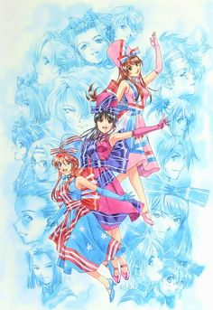 Sakura, Character Design, Game Art, Sakura Wars, Game Character, Manga Games, Artwork, Anime, Manga