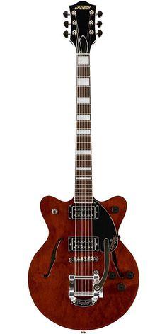 Gretsch G2655T WLN Streamliner Gretsch Electromatic, Guitar Art, Musical Instruments, Bass, Gibson Guitars, Guitar, Music Instruments, Instruments, Lowes