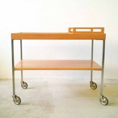 Located using retrostart.com > Serving Trolley by Wilhelm Renz and Walter Wirz for Wilhelm Renz