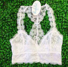 Lace Bralette- White