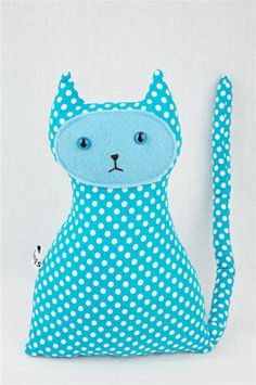Plush Toy , Polka Dot Cat