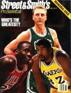 Michael Jordan, Magic Johnson & Larry Bird