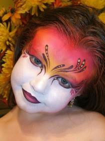 Face Painted by Mark Reid. One of the most inspiring face painters ever!