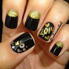 new year by selinasnailart #nail #nails #nailart