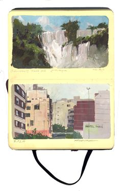 Andrew Hem | moleskin - south america