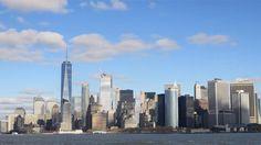 Staten Island Ferry  (New York City)  #nyc #ny #nyc #inyc #newyork #newyorkcity #statenisland #ferry #island #siferry #statenislandferry #hudsonriver #water #river #andrewt #goodvibes #relax #ride #mta #citylife #citysight #city #sky #dock #cityview #cloud #cityscene #citylights #cityscape #