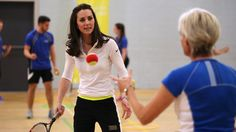 Kate Middleton Shows Off Her Sporty Side While Playing Tennis