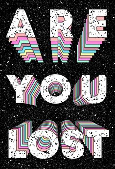 The amazing collages of visual artist Tyler Spangler Pastel Wallpaper, Iphone Wallpaper, Tyler Spangler, Typography Poster, Retro Art, Wall Collage, Word Art, Cute Wallpapers, Aesthetic Wallpapers