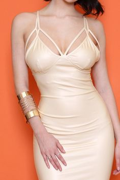 Snake Print Gold Detailing with Zig-Zag Cutout Design