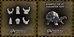 Slaughter Weapon Tips - catchy name, isn't it? Our today's new release. https://puppetswar.eu/product.php?id_product=641