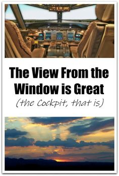 The View From the Window is Great - Postcards & Passports