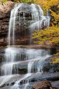 Beulach Ban Falls, Cape Breton Highlands National Park, Nova Scotia.
