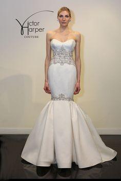 Victor Harper Wedding Dresses. To see more: http://www.modwedding.com/2014/05/07/victor-harper-wedding-dresses/ #wedding #weddings #fashion