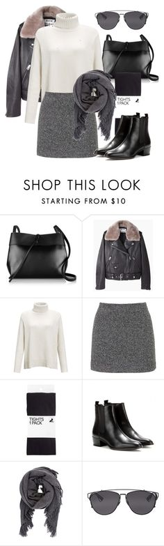 """Untitled #2248"" by annielizjung ❤ liked on Polyvore featuring Kara, Acne Studios, CO, Topshop, H&M, Yves Saint Laurent, Isabel Marant and Christian Dior"