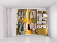 L'armadio open che diventa invisibile