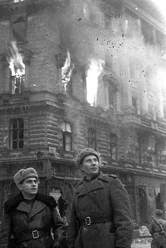 Russian soldiers in Berlin 1945