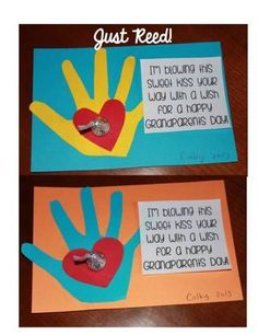 (And giveaway continues) grandparents day crafts, grandparent gifts, mothers