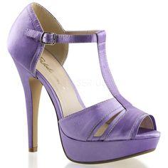 Lavender Light Purple Bridesmaid Bridal Prom Peep Toe Pinup Dance Heels Shoes  #Fabulicious #Stilettos #BridalorWedding