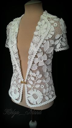 Beautiful lace jacket.