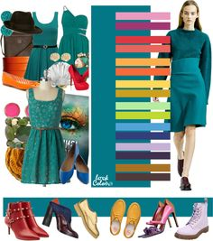 Модные сочетания 2016. Сочетание цветов