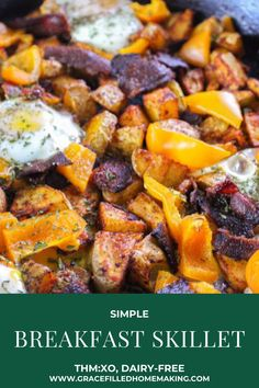 Trim Healthy Recipes, Thm Recipes, Real Food Recipes, Sugar Free Breakfast, Breakfast Recipes, Feel Good Food, Love Food, Bananas Foster French Toast, Leftover Pork