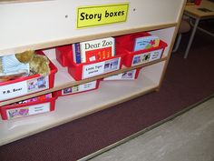 Story books and puppet organisation