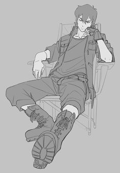 keith (voltron legendary defender) x noctis (final fantasy) Character Poses, Character Art, Drawing Reference Poses, Figure Reference, Drawing Poses Male, Male Pose Reference, Sketch Poses, Anatomy Reference, Voltron Fanart