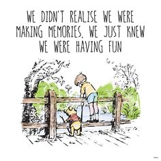 Winnie the Pooh Christopher Robin memories
