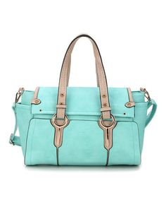 Another great find on #zulily! Light Blue Nila Satchel by Amore #zulilyfinds