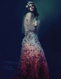 Alluring Underworld Shoots - The Fleur De La Nuit Re: Magazine Editorial is Artfully Ornate