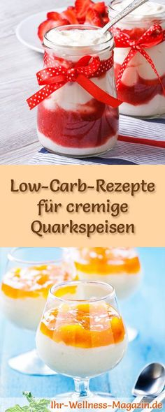 15 Low-Carb-Rezepte für Quarkspeisen: Kalorienreduziert, ohne Zusatz von Zucker, gesund, schnell und einfach ...