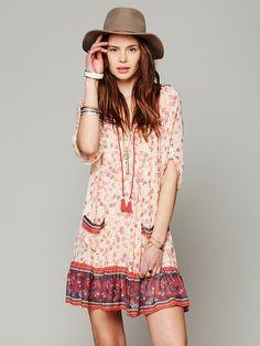 Free People Penny Lane Chiffon Dress