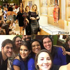 PRODUÇÃO DE EVENTOS  Parte da equipe de produção que realizou o desfile da loja de joias Panna.