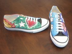 Lucky ChuckyHandpainted by OnlyHanna on Etsy