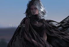 Fantasy Art Women, Dark Fantasy Art, Fantasy Girl, Fantasy Artwork, Cool Anime Girl, Anime Art Girl, Chica Anime Manga, Manga Girl, Fantasy Character Design