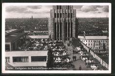 1930er Dachgarten Kardtadt Warenhaus am Hermannplatz