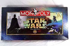 Monopoly Star Wars Classic Trilogy 1997 40809-1 Complete Parker Bros. | eBay