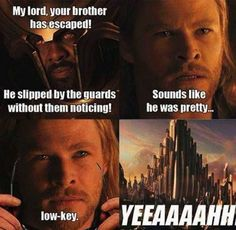 Funny avengers: Oh Thor!…love it when they emulate CSI Miami Funny avengers: Oh Thor!…love it when they emulate CSI Miami Funny Marvel Memes, Dc Memes, Avengers Memes, Marvel Jokes, Funny Memes, Thor Meme, Thor Jokes, Loki Funny, It's Funny