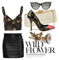 """""""WildFlower"""" by mia-christine on Polyvore featuring Vilshenko, Gucci, Whiting & Davis and Dolce&Gabbana"""