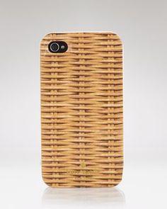 Wicker Print iPhone Case