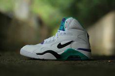 "Nike Air Force 180 Mid ""Charlotte Hornets"" - EU Kicks: Sneaker Magazine"