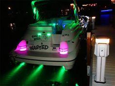 Underwater LED Light 6 Watt LED Fountain, Pond, Dock in led lighting for boats Marine Led Lights, Led Boat Lights, Pond Lights, Fairy Lights, Boat Bbq, Boat Dock, Pontoon Boat Party, Pontoon Boating, Pontoon Boat Accessories