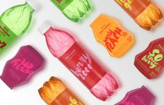 New Packaging for Aquafina FlavorSplash by Pearlfisher