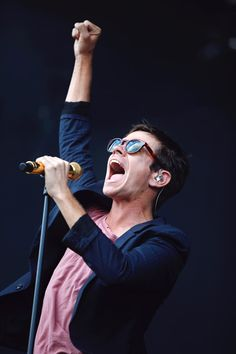 Nate Ruess of Fun. performs at ACL