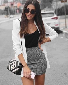 45 Best Fashion Outfit Ideas For Women Summer Outfits Winter Outfits Autumn Outfit Spring outfits School College Office Party outfits For Women - Fashion Crest Adrette Outfits, Party Outfits For Women, Cute Casual Outfits, Girly Outfits, Spring Outfits, Fashion Outfits, Winter Outfits, Fashion Heels, Formal Outfit For Teens