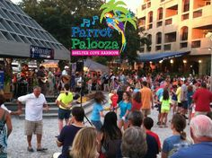 Hilton Head Parrot Palooza at Shelter Cove Harbour, live music, summer events, Jimmy Buffet tribute band