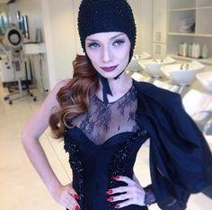 Para abalar na SPFW Maria Eugenia Suconic by Diego Queiroz, make Lu Ramos MG Hair Design