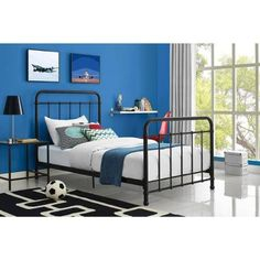 Better Homes and Gardens Kelsey Twin Metal Bed Better Hom... https://www.amazon.com/dp/B01A6DWV52/ref=cm_sw_r_pi_dp_x_fGugybCTM2V5Z